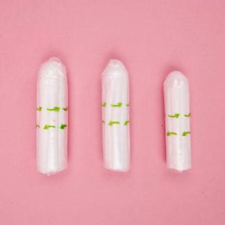 Bio Tampons Größen