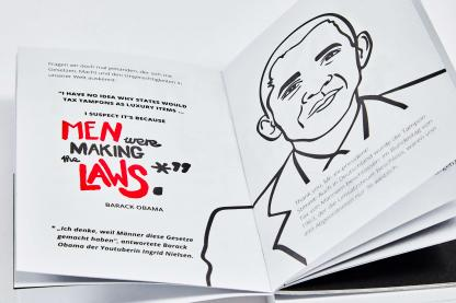 Tampon Book Obama