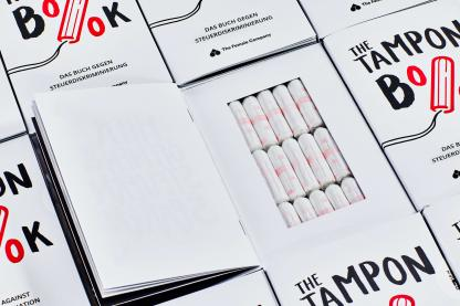 Tampon Book mit Bio-Tampons