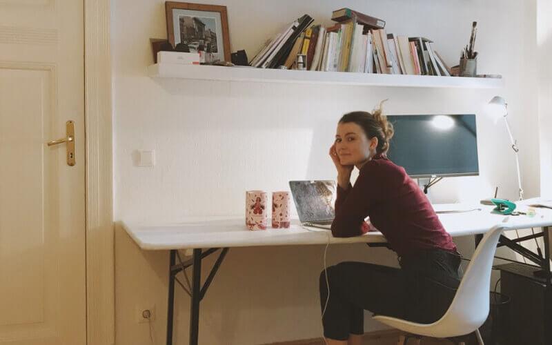 Designerin Hannah