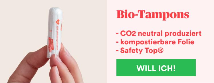 Bio-Tampons kaufen bei The Female Company