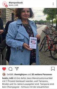 Tampon Book Beate Walter-Rosenheimer