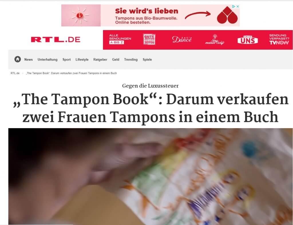 RTL Tampon Book