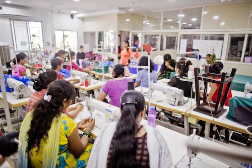 Werkstatt in Indien