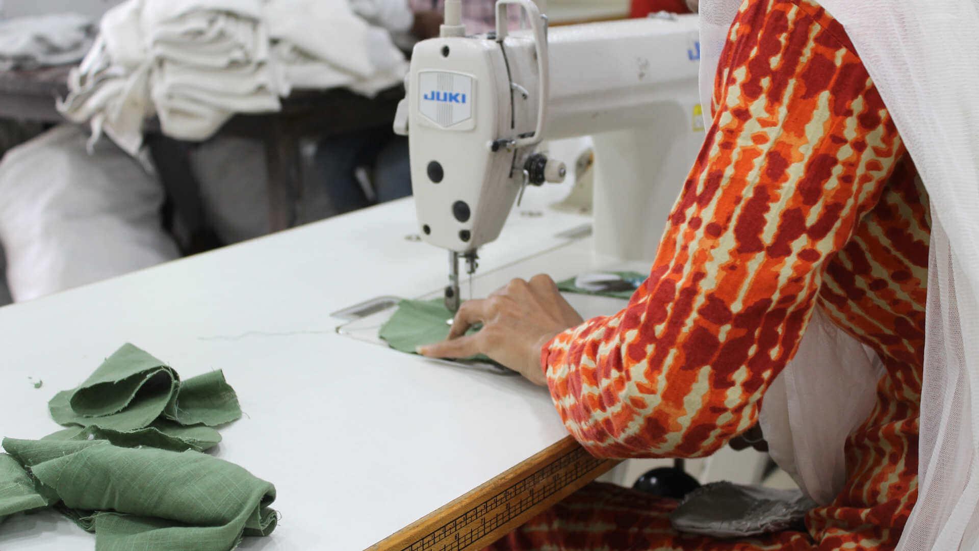 Nähmaschinen für Indien