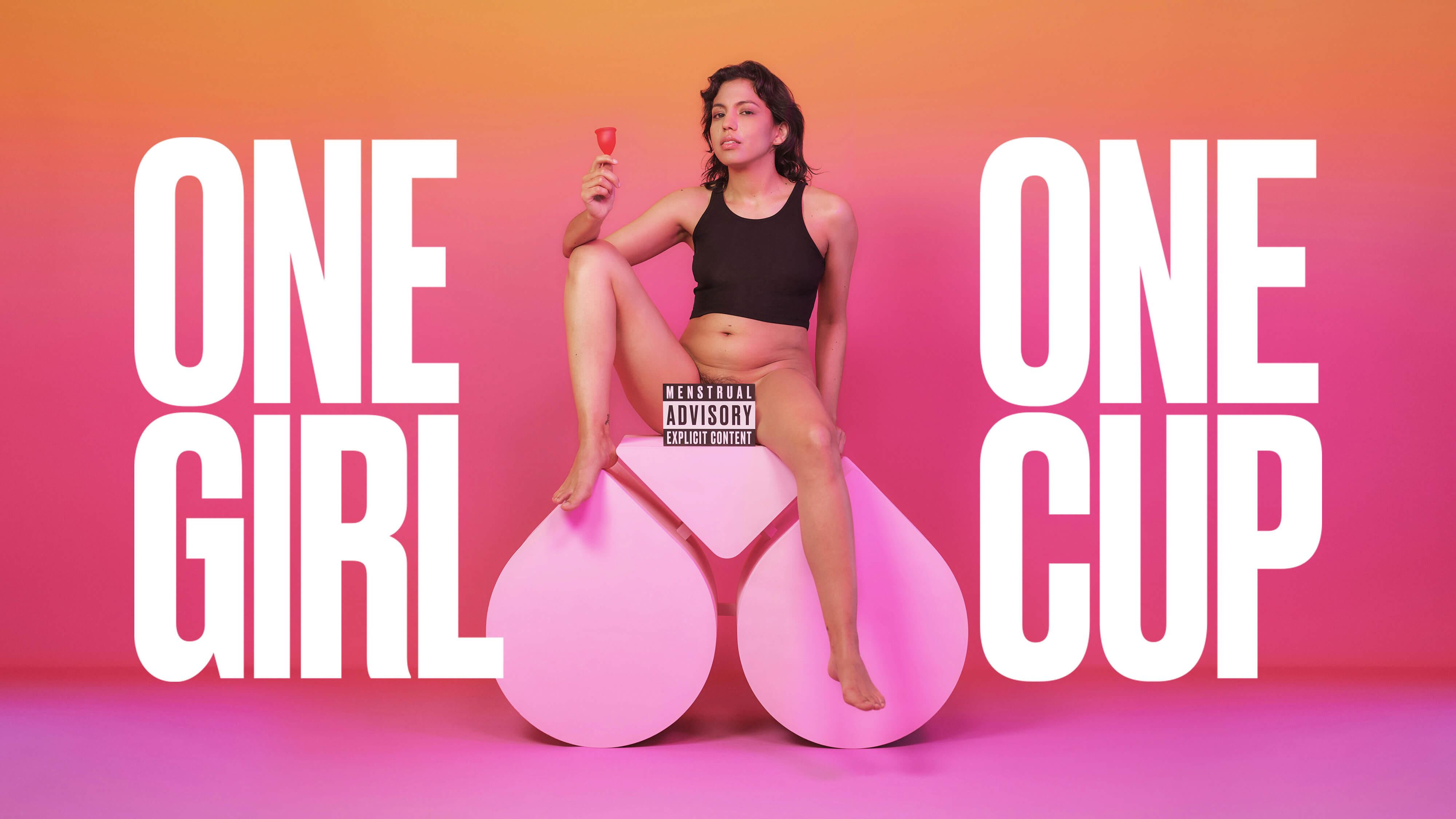 """Unsere neue Kampagne zur Menstruationstasse """"One Girl One Cup"""""""
