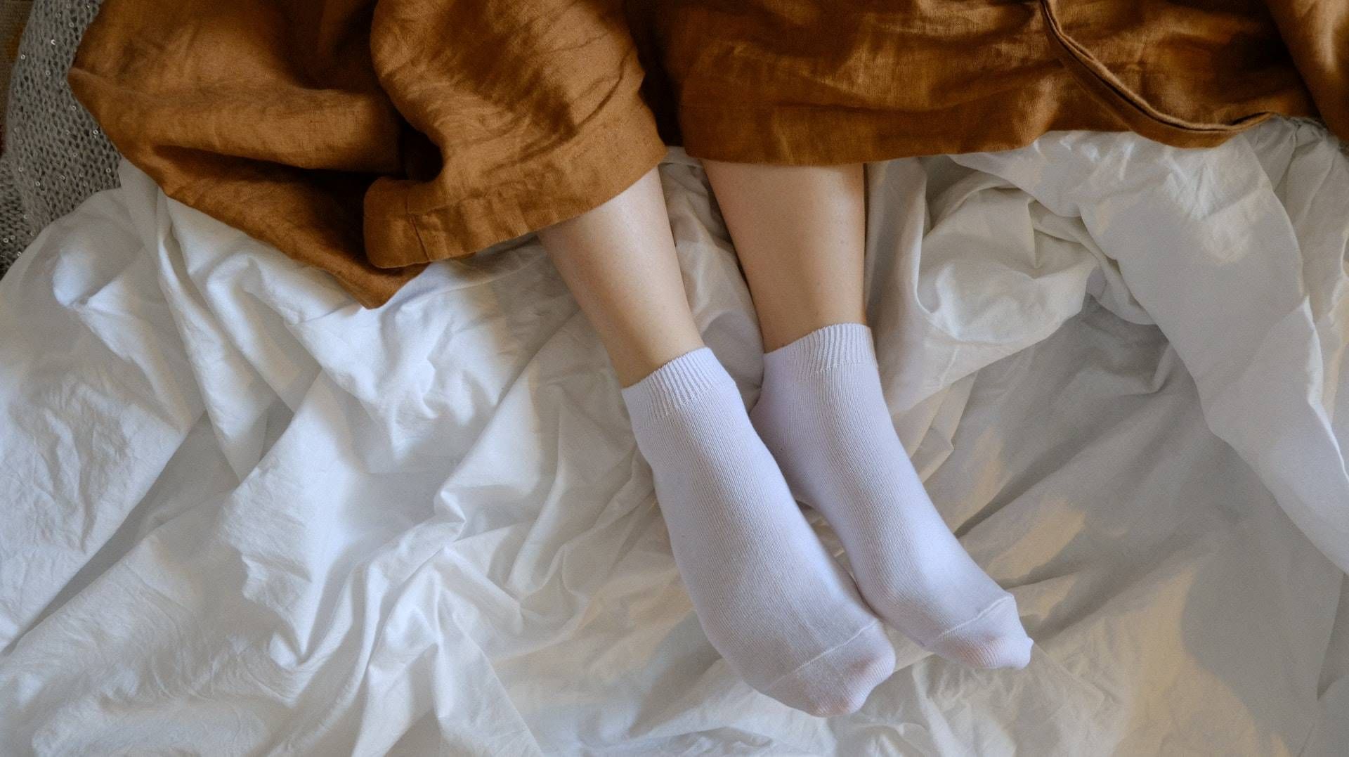 Mit Tampon schlafen