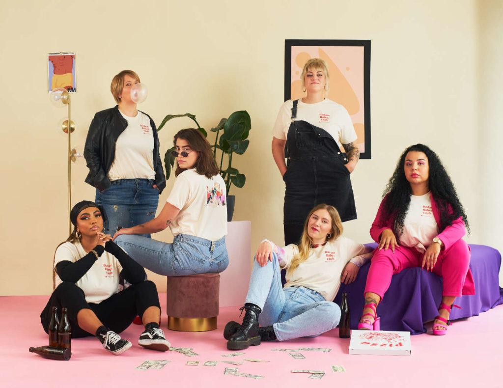 Sechs Powerfrauen