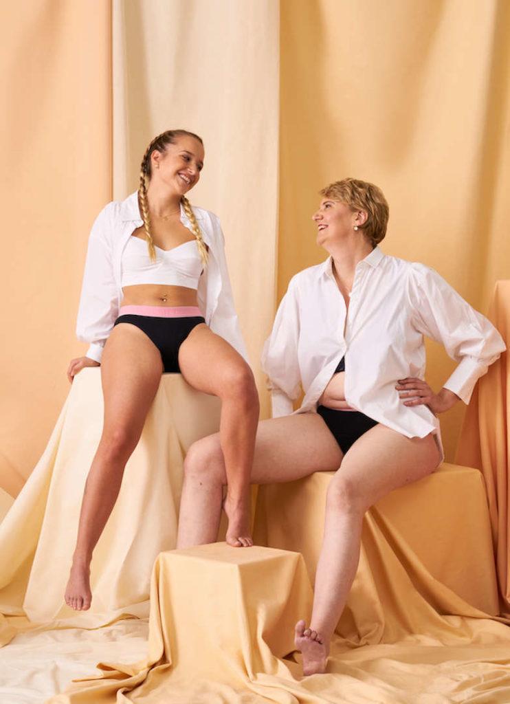 Periodenunterwäsche von The Female Company & ooia